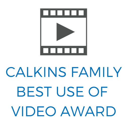 Calkins Family Best Use of Video Award