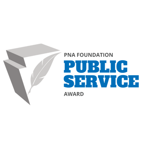 PNA Foundation Public Service Award Logo