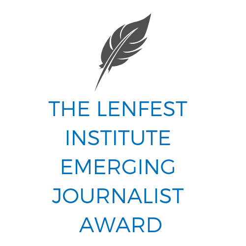 The Lenfest Institute Emerging Journalist Award