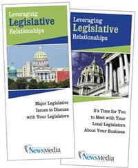 Building Relationships Legislative Brochure for Pennsylvania Newspapers