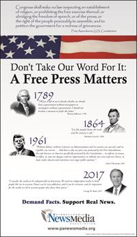 A Free Press Matters PNA Advertising Campaign