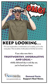 Trustworthy Informative Local News Media (Comics) Promotional Campaign